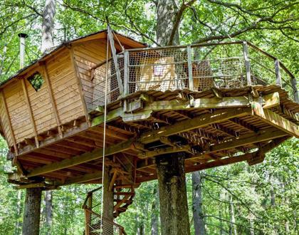Cabanes pour un séjour nature
