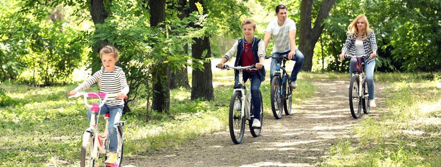 Vacances vélo en famille
