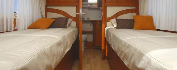 matelas pour camping car pour un lit jumeau
